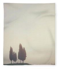 In The Mist Fleece Blanket
