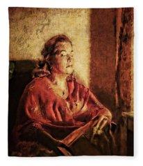 In The Moment Fleece Blanket