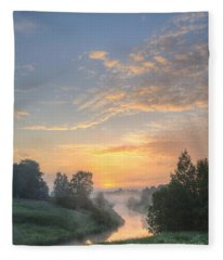 In The Morning At 04.27 Fleece Blanket