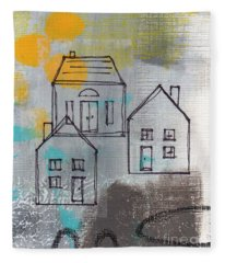 In The Neighborhood Fleece Blanket