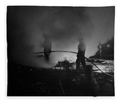 In The Smoke Fleece Blanket