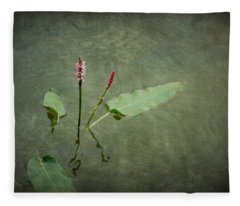 In The Stillness... Love Whispers My Name Fleece Blanket