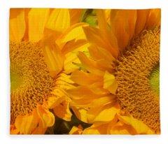 In The Sun Fleece Blanket