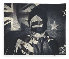 Inauspicious The Tale Of A Defaced Democracy Fleece Blanket
