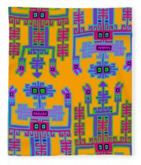 Inca Queens Fleece Blanket