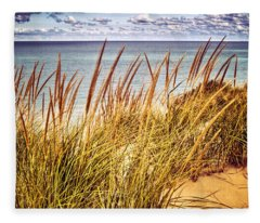 Indiana Dunes National Lakeshore Fleece Blanket
