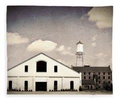 Indiana Warehouse Fleece Blanket