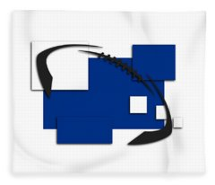 Indianapolis Colts Abstract Shirt Fleece Blanket