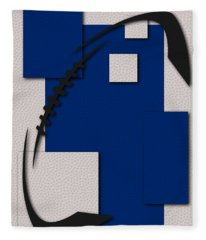 Indianapolis Colts Football Art Fleece Blanket