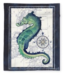 Indigo Maritime 2 Fleece Blanket