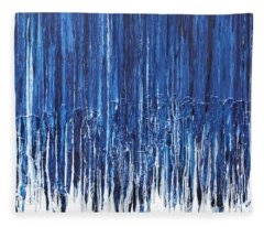 Indigo Soul Fleece Blanket