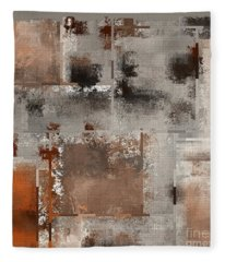 Industrial Abstract - 01t02 Fleece Blanket