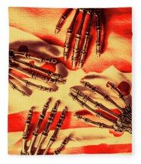 Industrial Death Machines Fleece Blanket