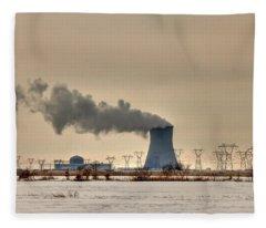 Industrialscape Fleece Blanket