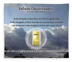 Infinite Opportunities Fleece Blanket