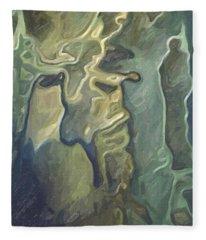 Influence Of Dali Fleece Blanket