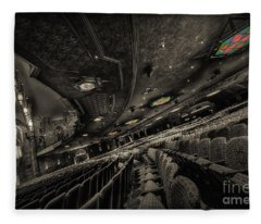 Inside Fox Theater Fleece Blanket