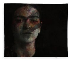 Inspiration Frida Kahlo  Fleece Blanket