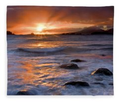 Inspired Light Fleece Blanket