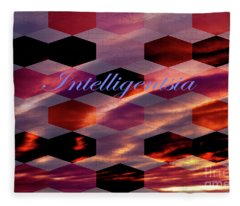 Intelligentsia Fleece Blanket