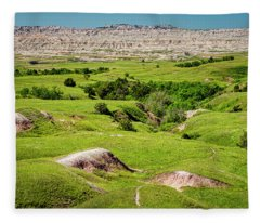 Into The Badlands Fleece Blanket