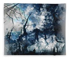 Into The Darkness - 01 Fleece Blanket