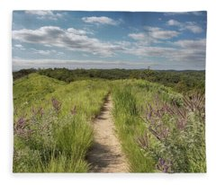 Into The Loess Hills Fleece Blanket