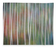 Fleece Blanket featuring the photograph Into The Magical Forest  by Andrea Kollo