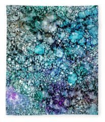 Into The Ocean Fleece Blanket