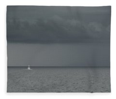 Into The Storm Fleece Blanket