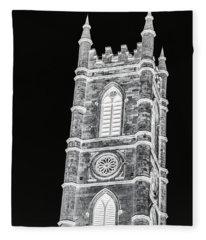 Inverted Church Tower Fleece Blanket