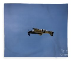 Inverted Mustang Fleece Blanket
