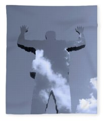 Invisible ... Fleece Blanket