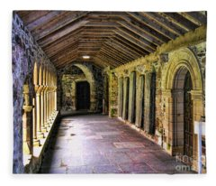 Arched Invitation Passageway Fleece Blanket