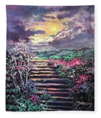Invitation To Heaven Fleece Blanket