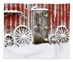 Iowa Blizzard Fleece Blanket