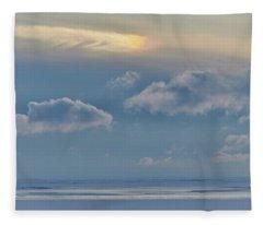Iridescence Horizon Fleece Blanket