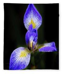 Iris #1 Fleece Blanket