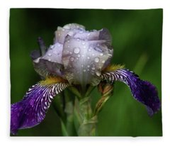 Iris After The Rain 1409 H_2 Fleece Blanket