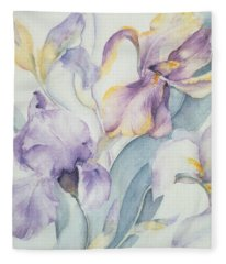 Iris Fleece Blanket