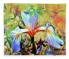 Iris Oh Iris 2 Fleece Blanket