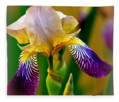 Iris Stepping Out Fleece Blanket