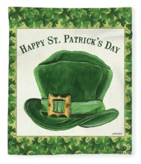 Irish Cap Fleece Blanket