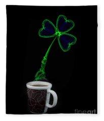 Irish Coffee Fleece Blanket