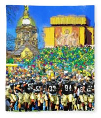 Irish Run To Victory Fleece Blanket