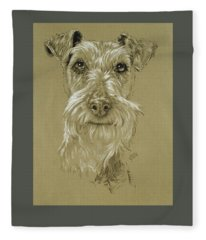 Irish Terrier Fleece Blanket