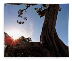 Ironwood Silhouett Fleece Blanket