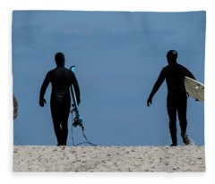 Is The Surf Up? Fleece Blanket