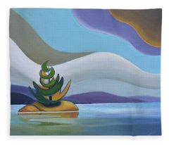 Island Fleece Blanket