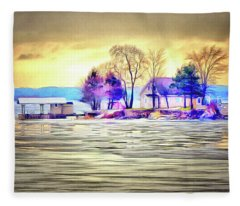 Island Life Fleece Blanket